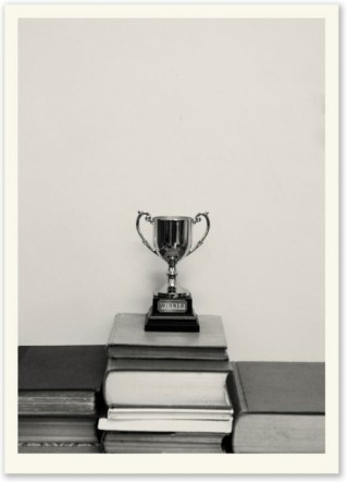 Erica Donovan, Winner's Trophy (2011), screen print on paper, edition of 10, 70x50cm