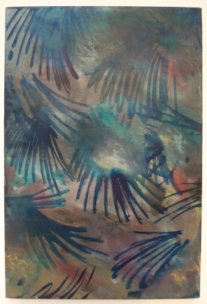 Jamie Partridge, Foliage (2011), oil on linen, 61x41cm