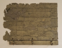 Maya Ramsay, Incarceration (2012), surface from wall with cobwebs and coat rack, 61x81x12cm