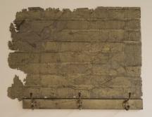 Maya Ramsay, Incarceration (2012), surface from wall with cobwebs and coat rack, 61x81x12cm