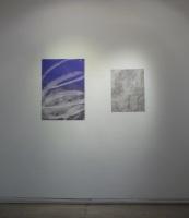 Majed Aslam 'Untitled' 2013 & 'Untitled' 2012' both acetone on inkjet